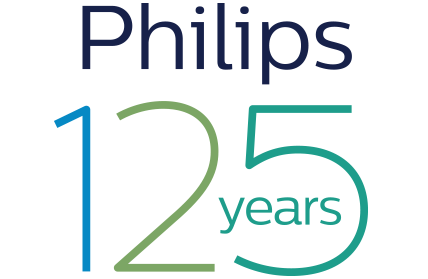 Philips 125th anniversary logo